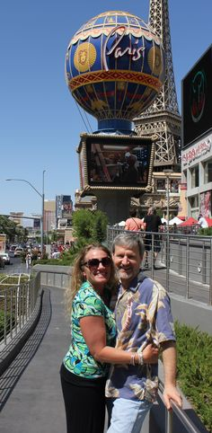 My 45th birthday in Vegas with my handsome husband 2013!
