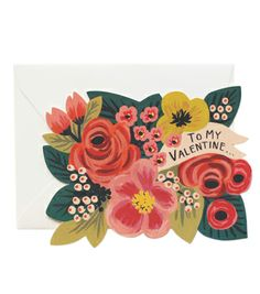 To My Valentine… Card by Rifle Paper Co.