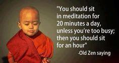 Meditation .. Mindfulness