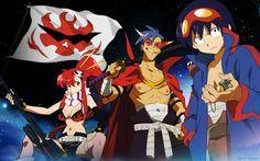 PIPOCA COM BACON: Sexta-Feira Sem post… - #PipocaComBacon - #Anime #Cosplay #GurrenLaggan #Manga #TengenToppaGurrenLaggan #YokoLittner