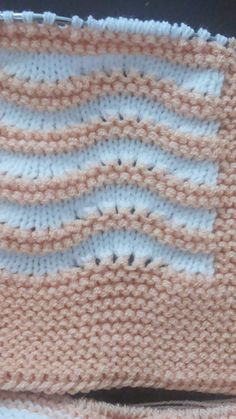 Le Point, Baby Knitting, Knitting Patterns, Stitch, Blanket, Crochet, Crafts, Inspiration, Templates