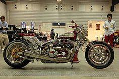 IMG_8900 (Janta9G1340) Tags: show new old school summer japan vintage cool chopper harley motorcycle l 5d yokohama custom davidson 2010 bobber brekaer
