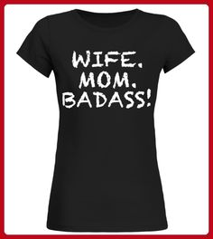 WIFE MOM BADASS - Shirts für schwester (*Partner-Link)