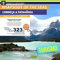 Promoção Patagônia 2016: Conheça a Patagônia em um cruzeiro de 14 noites com até 30% off! #promoção #turismo #patagonia #travelmatebrasil
