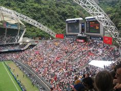 HOng Kong Sevens, lots of beer and oh some Rugby got played (2007)
