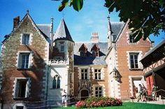 Loire Valley, France - Chateau d'Clos Luce - Leonardo da Vinci's home & studio