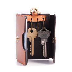 KELET Key Wallet | Genuine Top Grain Natural Leather | Castello DaVarg Texas USA | Castello DaVarg
