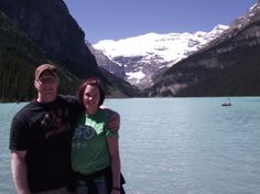 Us, Lake Louise, AB, Canada (threadless tee)