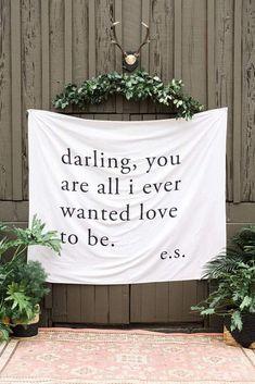 Custom Wedding Backdrop Wall Decor Wedding Sign – Dbackdrop Wedding Vows, Wedding Bells, Wedding Reception, Our Wedding, Dream Wedding, Wedding Day Quotes, Wedding Canvas, August Wedding, Wedding Stuff