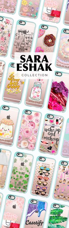 Take a look at these cases designed by Sara Eshak now! https://www.casetify.com/SaraEshak/collection | @casetify