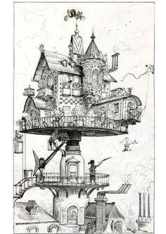 HOUSE of the FUTURE colouring pages FREE @ edupics