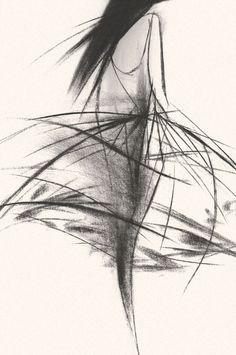Fashion Drawing Fashion illustration by Tobie Giddio for Jason Wu Fashion Illustration Sketches, Illustration Mode, Fashion Sketchbook, Fashion Design Sketches, Silhouette Mode, Arte Fashion, Croquis Fashion, Fashion Artwork, Fashion Drawings