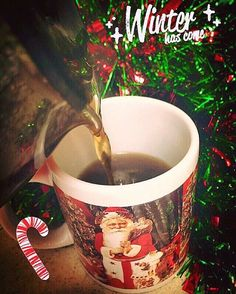 Nothing like the smell of BREWING ☕️Gingerbread Latte coffee☕!️ YUM!!!✨ I  Christmas drinks!!!❄️☃ Can't believe that December week is ALREADY here!!!❄️❄️☃✨How EXCITING!!!❄️☃☕️☕️