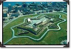 The Fortress on Citadel Hill, Halifax Commonwealth, Cool Places To Visit, Great Places, Halifax Citadel, L'anse Aux Meadows, Internal Courtyard, Harbor View, Canadian History, Cape Breton
