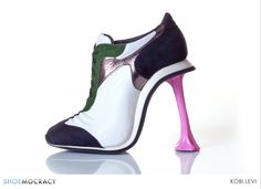 These extraordinary ,hand made high heel shoes are all designed by Kobi Levi. Here is 10 Most Extraordinary High Heel Shoes By Kobi Levi. Crazy High Heels, Crazy Shoes, Me Too Shoes, Weird Shoes, Stilettos, Stiletto Heels, Pumps, Designer High Heels, Designer Shoes