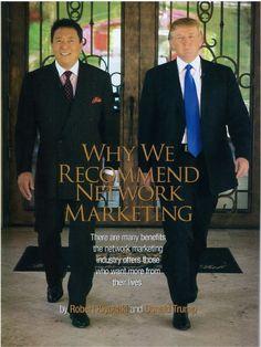 Robert Kiyosaki and Donald Trump www.royalebusinessclub.com e-mail me for inquiries shakeioff@yahoo.com