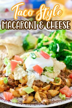Easy Taco Macaroni and Cheese is a budget-friendly, family-friendly meal made with ground beef, taco seasoning and boxed mac and cheese.