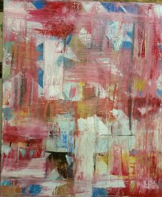 abstracto oleo 70 € 45×38