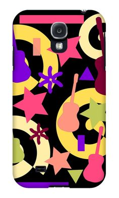 Need a new case for your #SamsungGalaxy? Try this one! #guitars #colors #joy #summer #Redbubble #gift