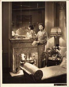 KAY FRANCIS OPULENT vintage 1930 ORIGINAL ART DECO Dblwgt PORTRAIT FASHION Photo   eBay