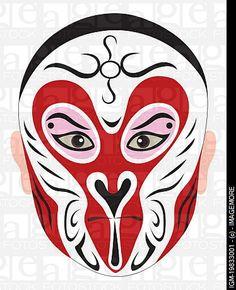 Monkey King opera mask