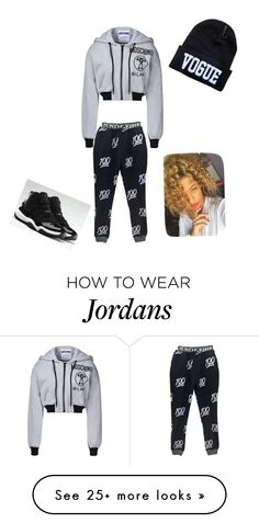 """""""Untitled #133"""" by jstackss on Polyvore featuring Moschino and NIKE"""