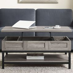 Laurel Foundry Modern Farmhouse Omar Coffee Table with Lift Top & Reviews | Wayfair