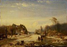 Paul Joseph Constantin Gabriël - Winterlandschap