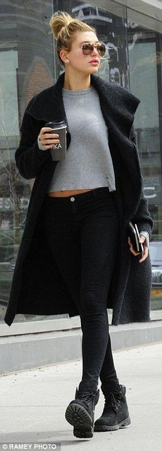 Hailey Baldwin Street Fashion                                                                                                                                                                                 More