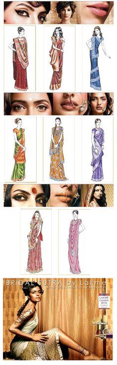 Different Ways to Wear #Sarees