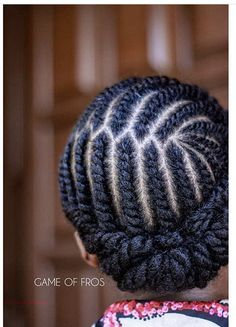 Short Hair Styles Bl - February 02 2019 at Protective Hairstyles For Natural Hair, Natural Hair Twist Out, Natural Hair Braids, Braids For Black Hair, Natural Hair Styles, Natural Curls, Flat Twist Hairstyles, Flat Twist Updo, French Twist Hair