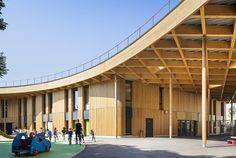 Jules Verne School / archi5 | ArchDaily