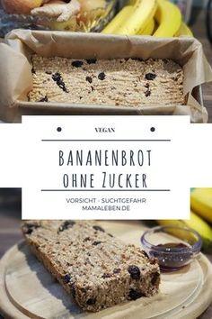 Keine Lust auf lange Back-Szenarien? Dieses #bananenbrot ist in 5 Minuten zusammengemischt und super #lecker - #vegan und #ohnezucker Guten Appetit!