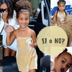 Outfit di North West la figlia di Kim Kardashian… si o no? Sta tutto in un particolare