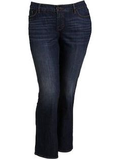 2f63af923cffe Old Navy Online Womens Plus Tummy-Trimmer Boot-Cut Jeans - Everyday Steals  Plus