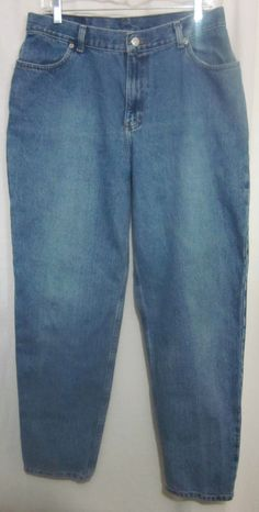 Faded Glory Jeans Girls Size 16 Avg Relaxed Fit 31x30 Free Shippiong #FadedGlory #Relaxed
