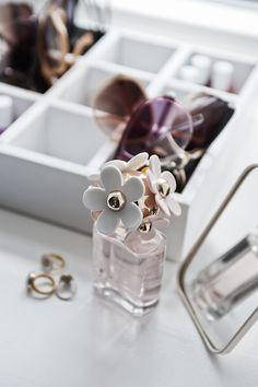 Perfume close up