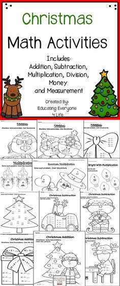 Christmas Math.7781 Best Christmas Math Ideas Images In 2019 Christmas