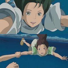 Spirited Away, Studio Ghibli, Kawaii, Anime, Fictional Characters, Art, Art Background, Kunst, Cartoon Movies