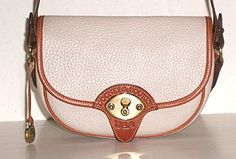 Authentic Dooney and Bourke Small Cavalry Trooper Bag