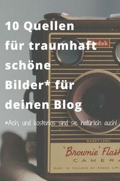 Schöne, originelle UND kostenlose Bilder für den Blog zu finden ist schwer. Diese Seiten helfen weiter I http://www.blogchicks.de
