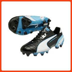 33549d3d49283a Puma SS14 King SG Mixed Football Boots - Black/Blue - UK 7 (*Partner Link)