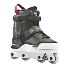 K2 Sports Varsity Aggressive 2012 Inline Skates(Black/Red, 8.5) by K2. $192.94. This Louie Zamora inspired skate is one of the lightest street skates ever made. Designed to destroy parks, pipes, rails, and ledges, K2's Aggressive skates are street tested and have proven to take a beating. These skates feature UFS Comnpatability, a speed controlling royal insert, and the comfort of the K2 Softboot.They will take as much abuse as you can dish out and feature K2's hex frame s...