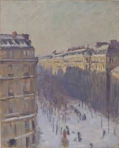 François Depeaux, l'impressionnant collectionneur Swansea, Renoir, Monet, Le Havre, Grand Palais, Haussmann, Paris, Winter, Painting