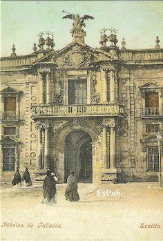 Fotos y postales antiguas de Sevilla: Las Cigarreras.