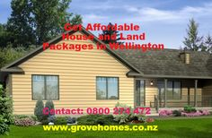 Buy stylish, comfortable and affordable house and land packages in Wellington from Grove Homes at reasonable price. It always listens to and understands its people's needs and expectations when it comes to building their home. goo.gl/PASr8Q