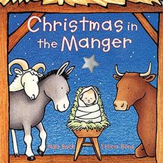 Give your child the magic of the season by having their own special Christmas Board Books they can carry around the house and enjoy at night.