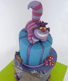 cheshire cat cake ...