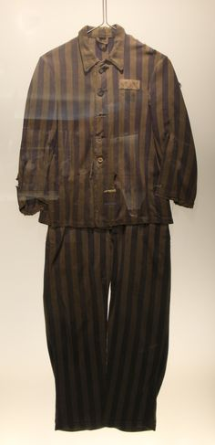 A camp uniform on display at the Museum