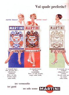 pubblicità - anni 60s - martini   Flickr - Photo Sharing!